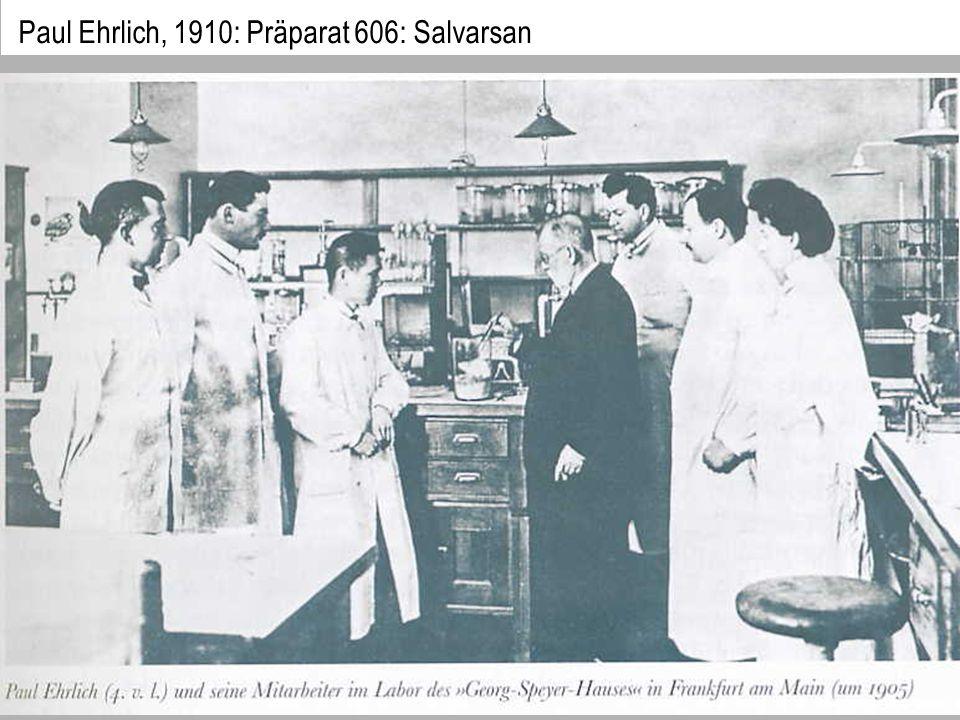 Paul Ehrlich, 1910: Präparat 606: Salvarsan