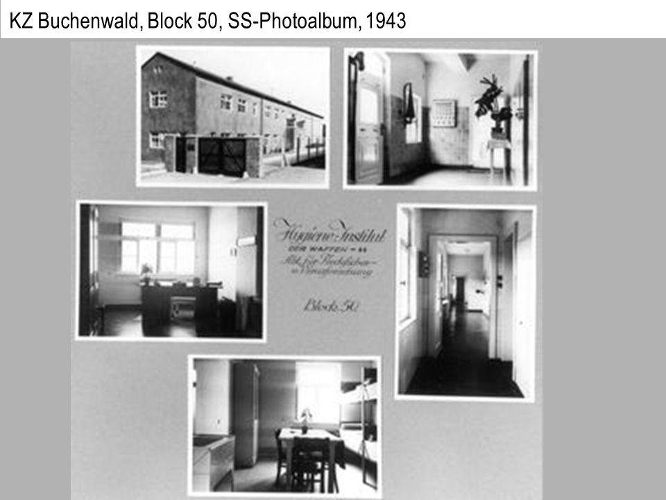 KZ Buchenwald, Block 50, SS-Photoalbum, 1943