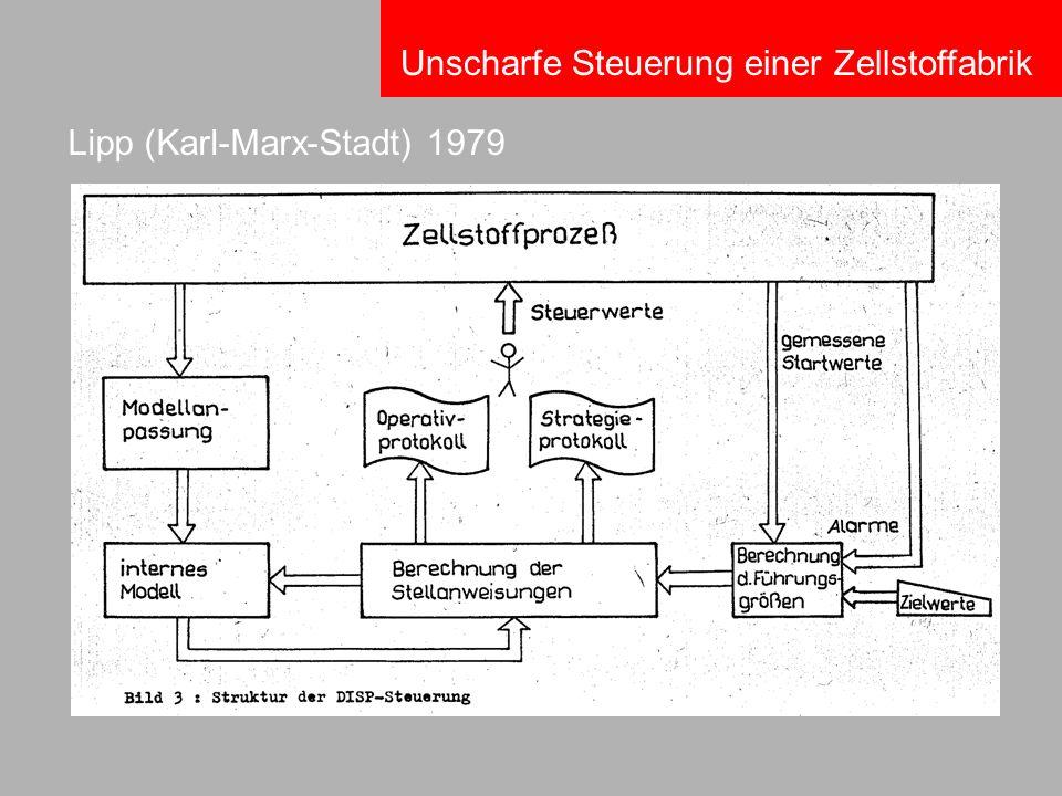 Lipp (Karl-Marx-Stadt) 1979 Unscharfe Steuerung einer Zellstoffabrik