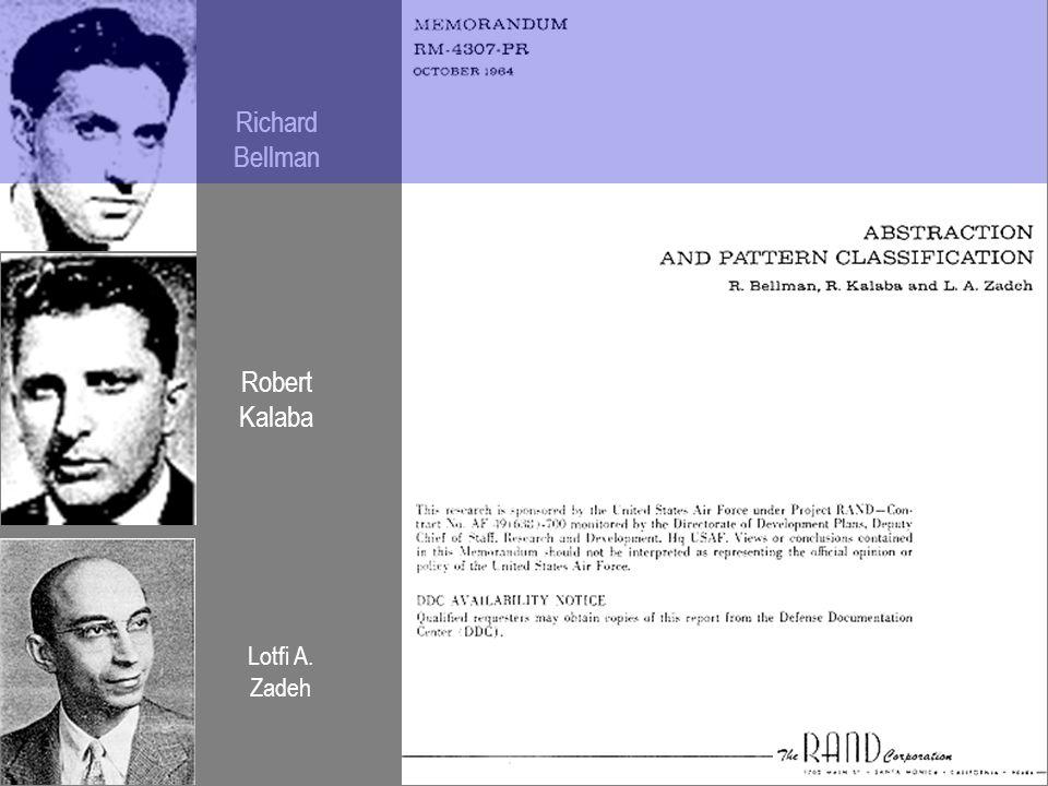 Richard Bellman Robert Kalaba Lotfi A. Zadeh