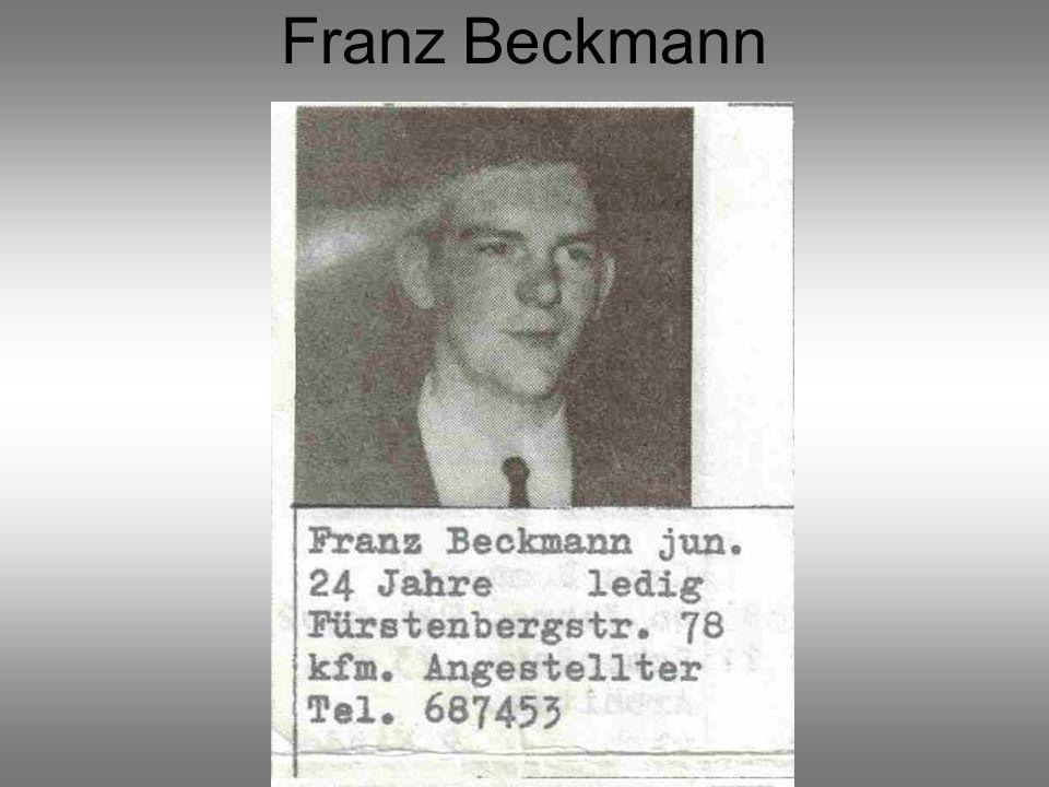 Franz Beckmann