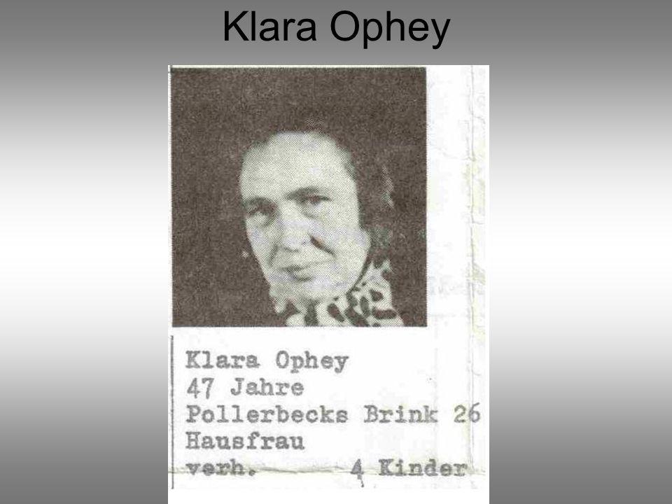 Klara Ophey