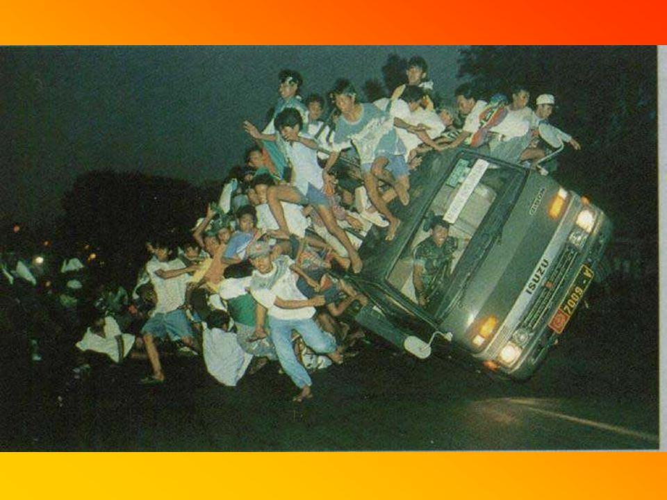 Beim Rückweg von der Disco sollte man nicht den allerletzten Bus nehmen