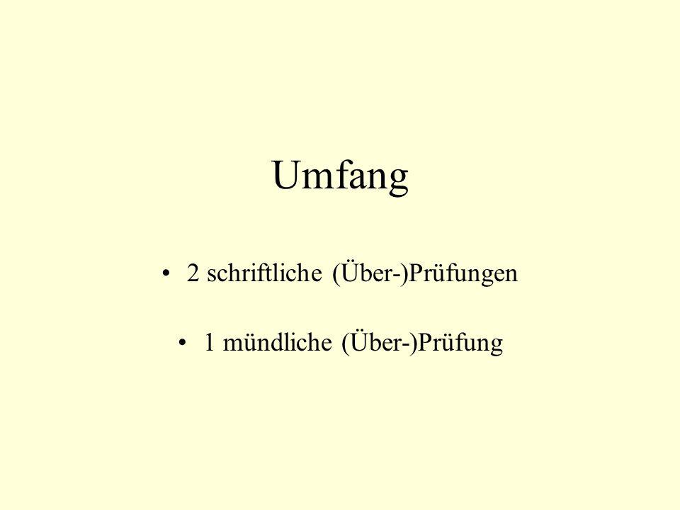 Schriftliche Leistungen in: Mathematik (für alle verbindlich) Deutsch oder 1.