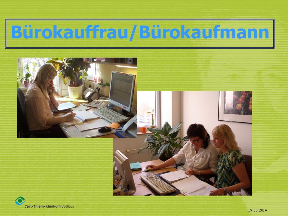 19.05.2014 Bürokauffrau/Bürokaufmann