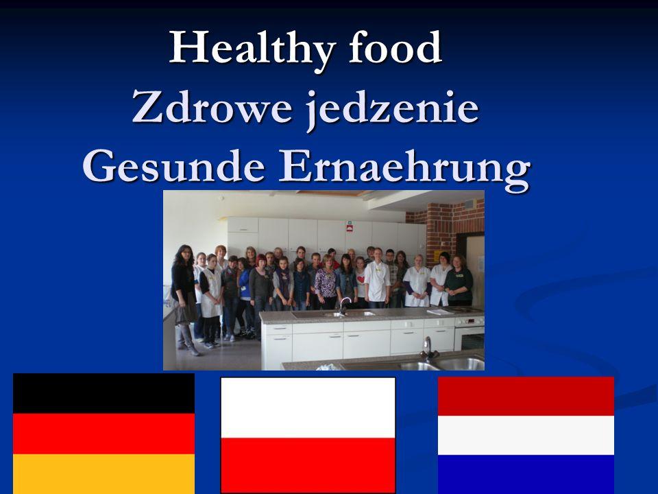 Healthy food Zdrowe jedzenie Gesunde Ernaehrung