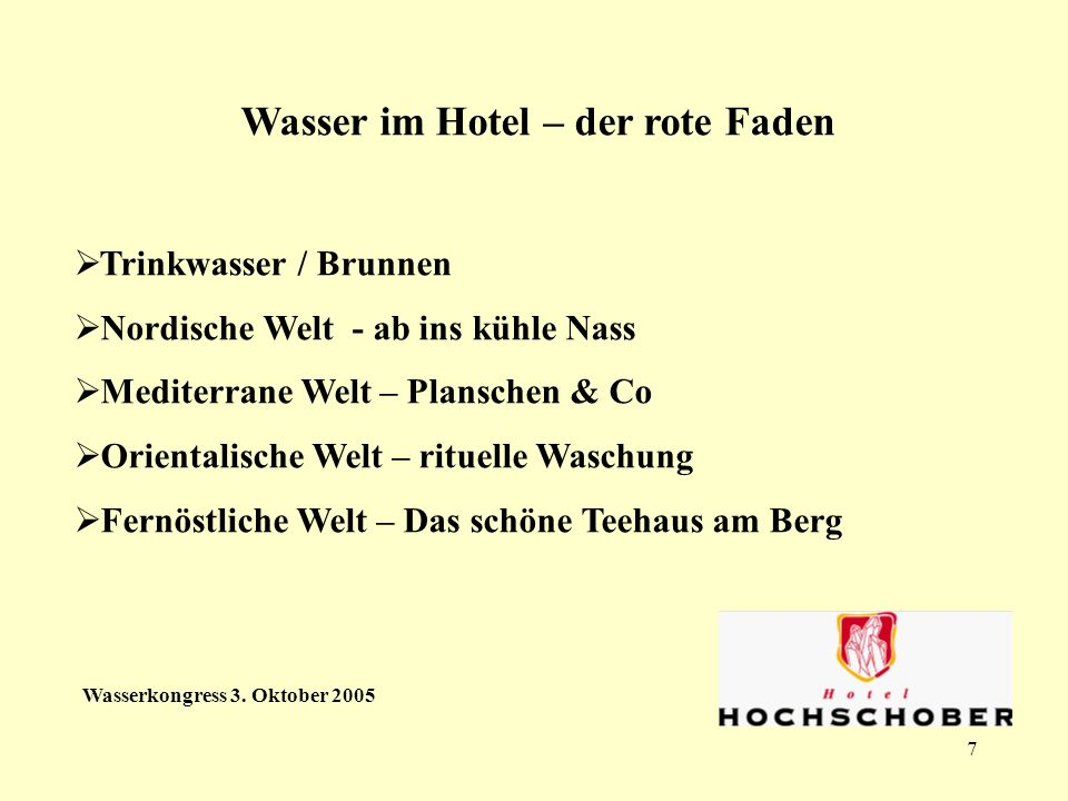 7 Wasserkongress 3.