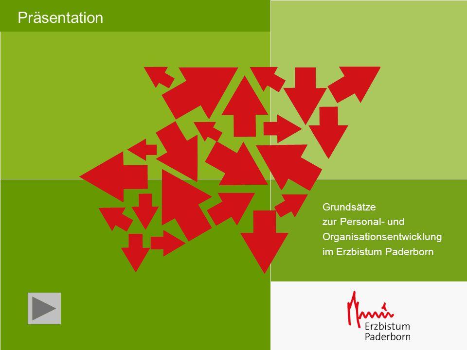 Präsentation Grundsätze zur Personal- und Organisationsentwicklung im Erzbistum Paderborn