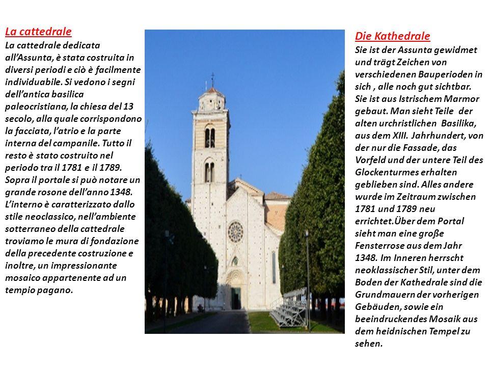 La cattedrale La cattedrale dedicata allAssunta, è stata costruita in diversi periodi e ciò è facilmente individuabile.