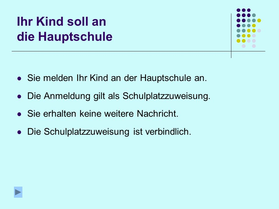 Ihr Kind soll an die Vorarlberger Mittelschule In der Vorarlberger Mittelschule erhalten die Schüler/innen auf Wunsch eine zusätzlichen Ausbildung in