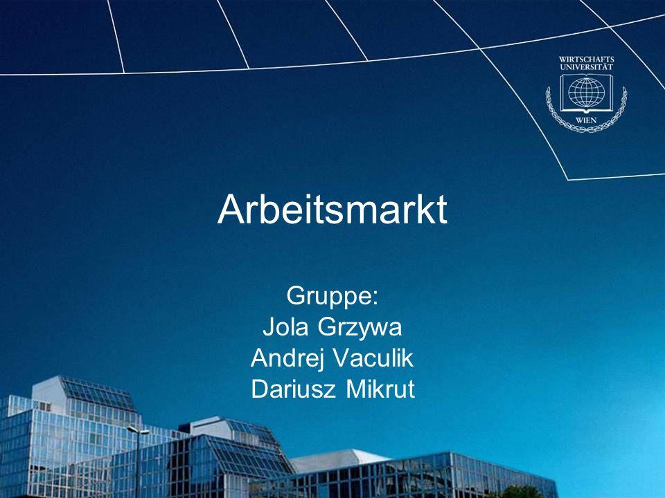 Zugang zu Arbeitsmärkten Gruppe1: Malta Zypern Gruppe 2, EU-8: Estland Lettland Litauen Polen Slowakei Slowenien Tschechien Ungarn Gruppe 3: Bulgarien Rumänien