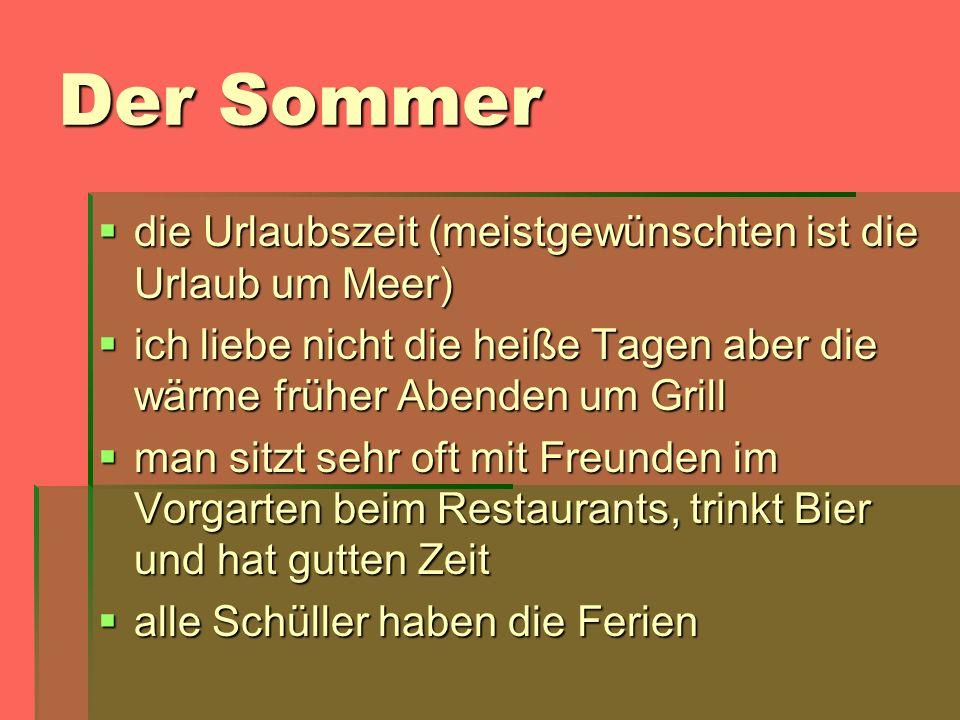 Der Sommer die Urlaubszeit (meistgewünschten ist die Urlaub um Meer) die Urlaubszeit (meistgewünschten ist die Urlaub um Meer) ich liebe nicht die hei