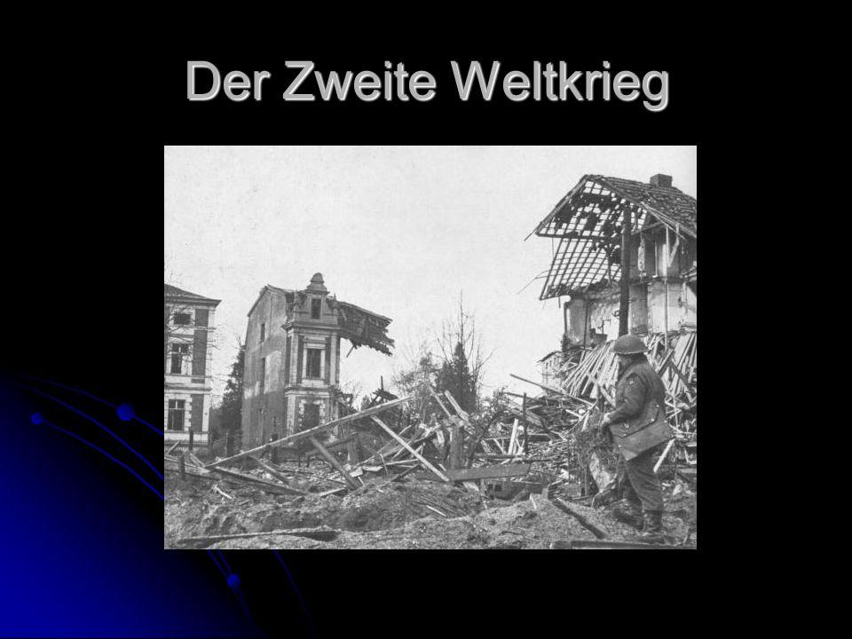 Die Nachkriegsjahre Die alliierten Truppen teilten nach Kriegsende das Ganze Land in vier Besatzungszonen.