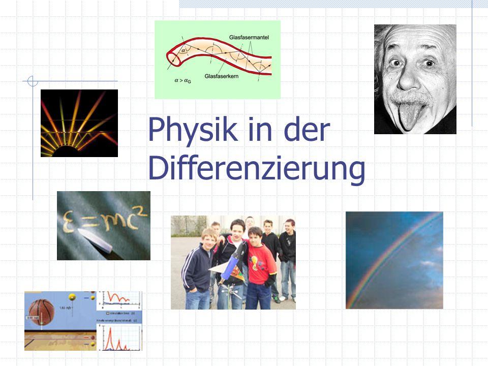Physik in der Differenzierung