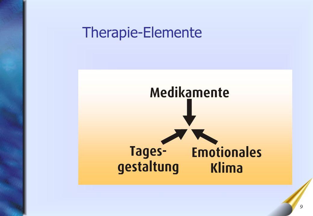 9 Therapie-Elemente
