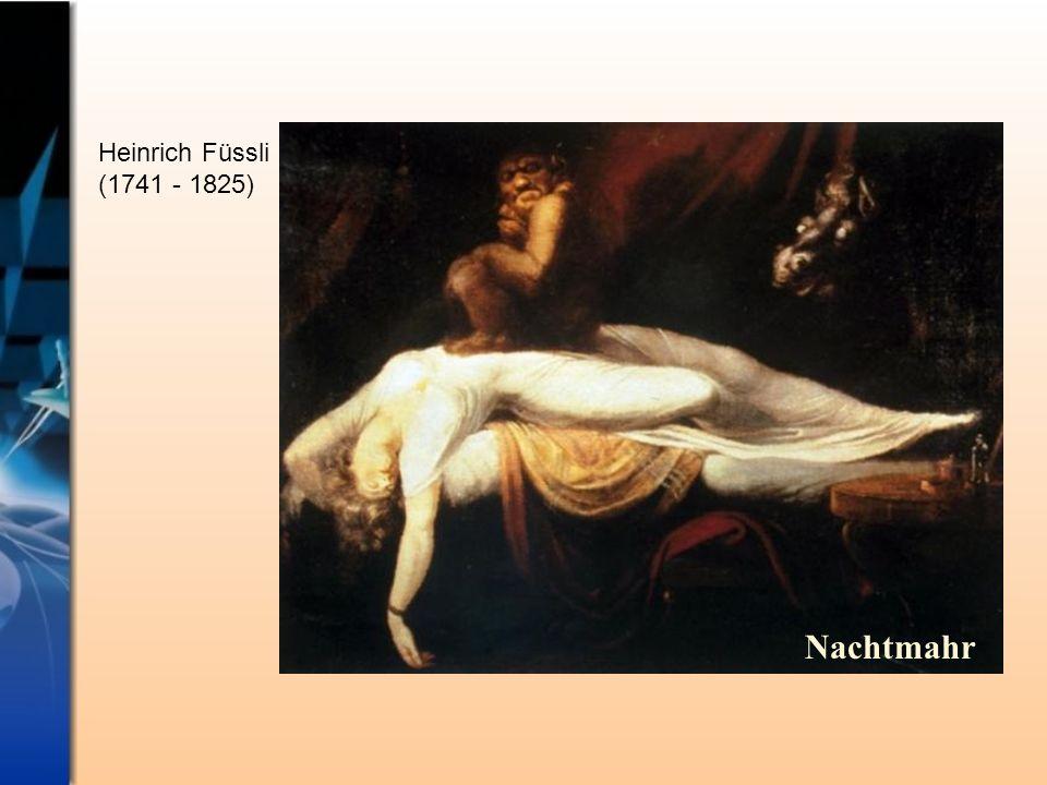 Heinrich Füssli (1741 - 1825) Nachtmahr