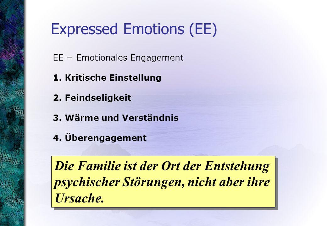 EE = Emotionales Engagement 1. Kritische Einstellung 2.