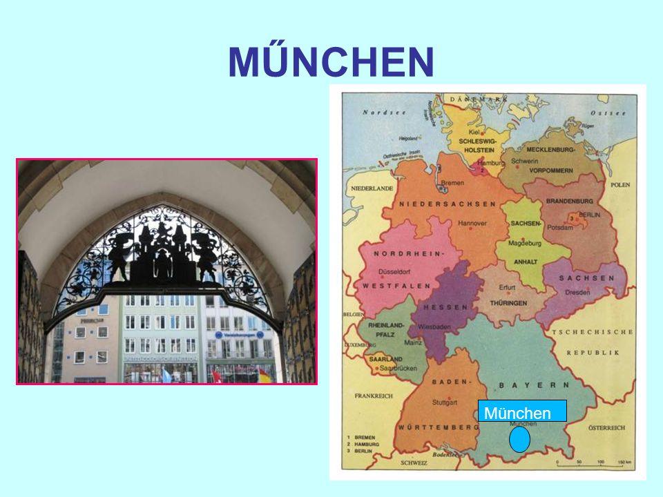 München ist Hauptstadt des Landes Bayern München ist die Hauptstadt von Bayern.