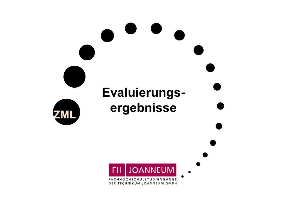 ZML Evaluierungs- ergebnisse