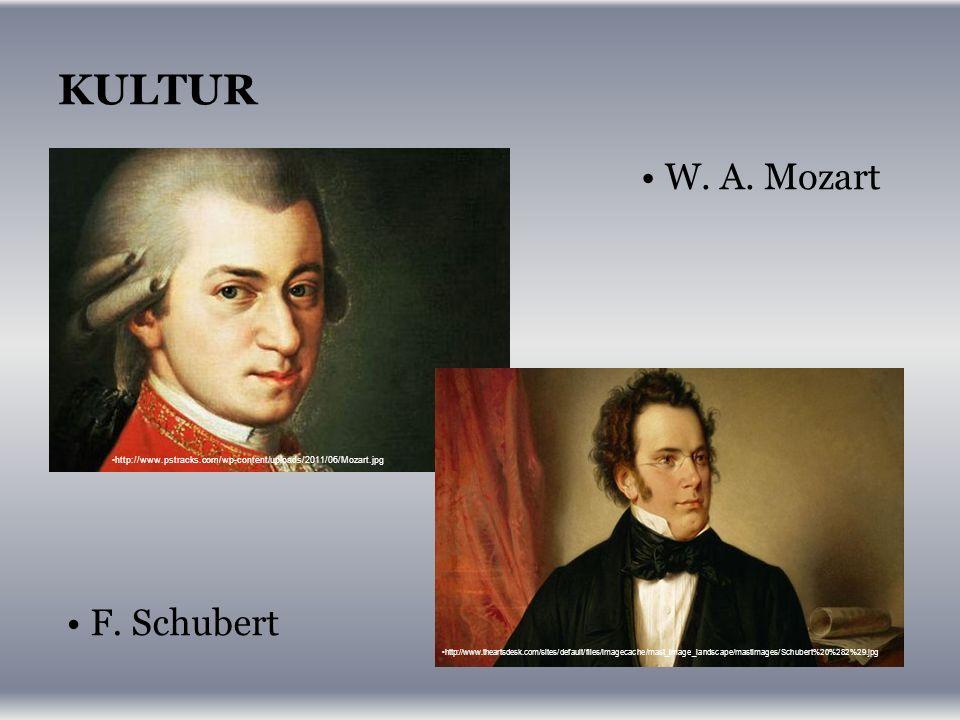 KULTUR W. A. Mozart http://www.pstracks.com/wp-content/uploads/2011/06/Mozart.jpg F.