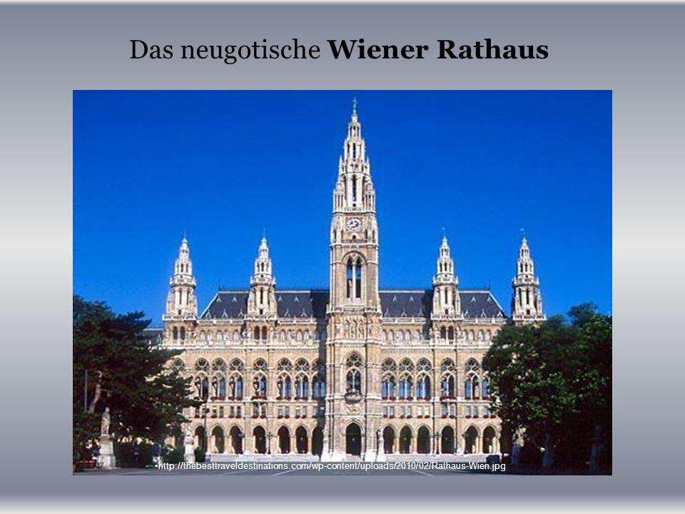 Das neugotische Wiener Rathaus http://thebesttraveldestinations.com/wp-content/uploads/2010/02/Rathaus-Wien.jpg