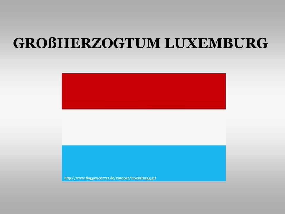 INHALT GRUNDINFORMATIONEN BEVÖLKERUNG UND SPRACHE STAATSAUFBAU VOLKSWIRTSCHAFT HAUPTSTADT http://upload.wikimedia.org/wikipedia/Luxemburg.PNG