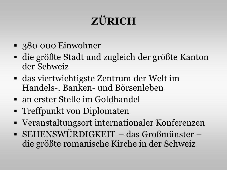 DAS GROßMÜNSTER http://www.zurichpublishing.com/images/whyzurich.jpg