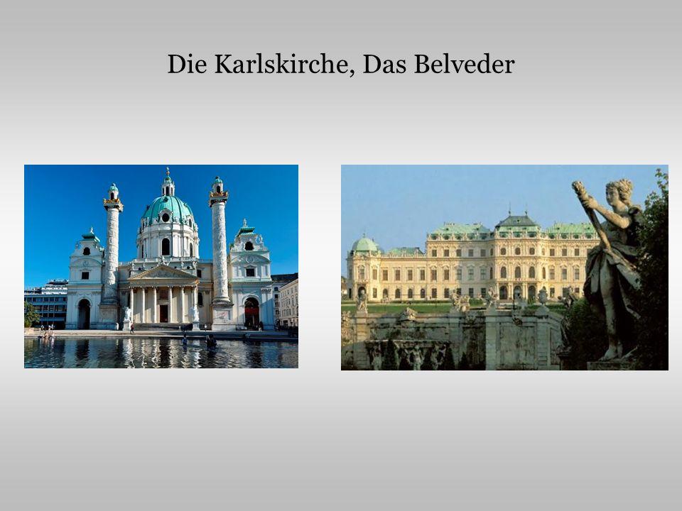Die Karlskirche, Das Belveder