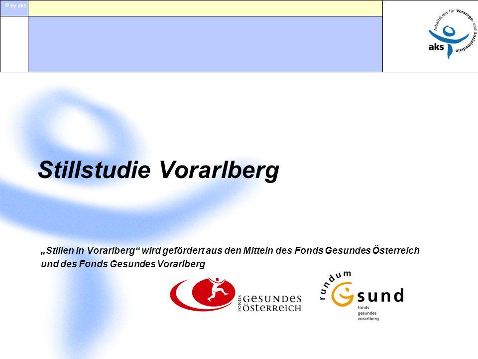 by aks Stillen in Vorarlberg wird gefördert aus den Mitteln des Fonds Gesundes Österreich und des Fonds Gesundes Vorarlberg Stillstudie Vorarlberg