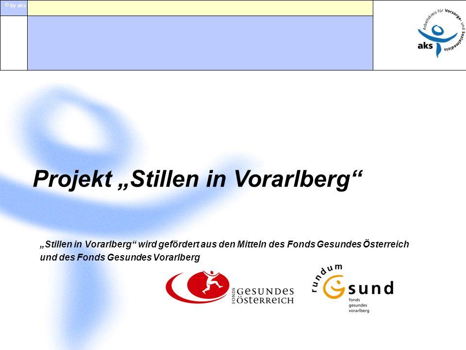 by aks Stillen in Vorarlberg wird gefördert aus den Mitteln des Fonds Gesundes Österreich und des Fonds Gesundes Vorarlberg Projekt Stillen in Vorarlb
