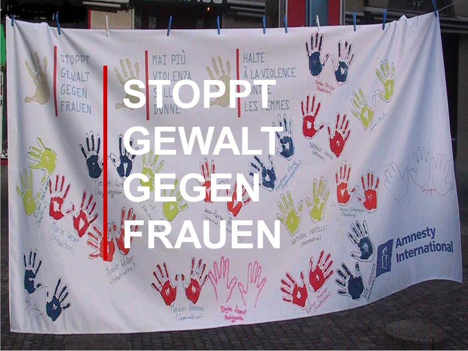 STOPPT GEWALT GEGEN FRAUEN