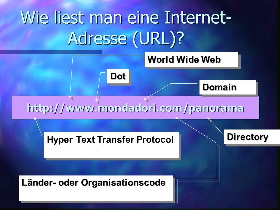 Internet Explorer von Microsoft Quick-Link-Leiste Adressfeld Hauptframe Frame mit Scroll-Leiste Explorer-Logo Name der Web-Seite Menüleiste Symbolleiste Task-Leiste