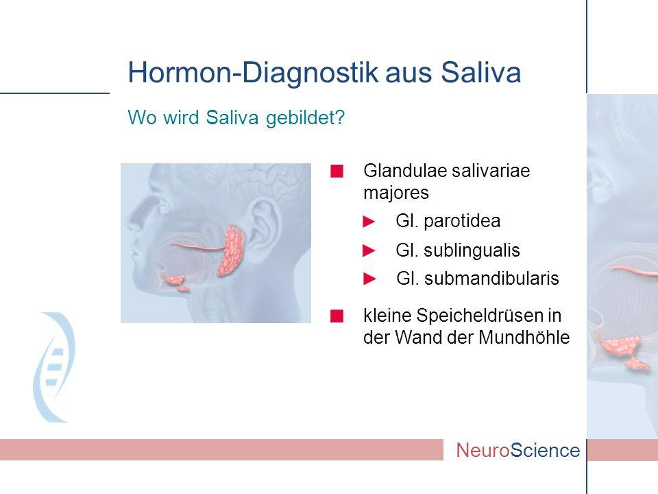 Gl.submandibularis Glandulae salivariae majores Wo wird Saliva gebildet.