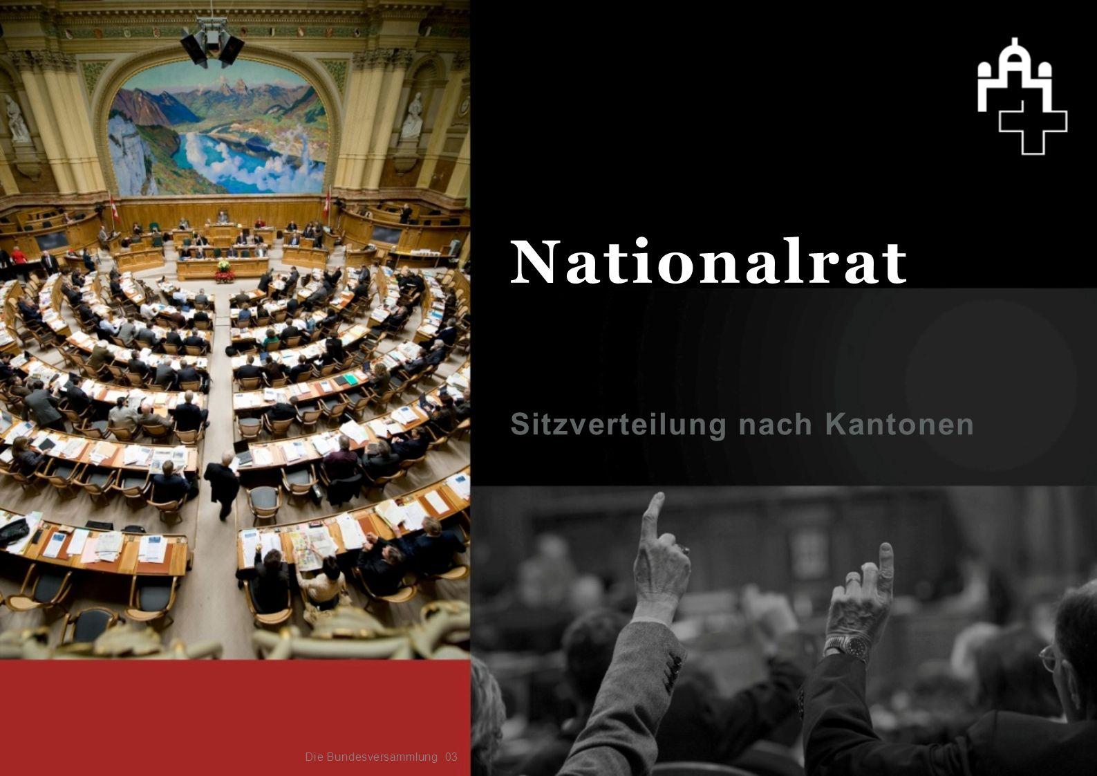 Das parlamentarische Verfahren Die parlamentarischen Vorstösse Parlamentarische Initiative Motion Ein Ratsmitglied, eine Fraktion oder eine parlamentarische Kommission Beide Räte müssen zustimmen Verbindlicher Auftrag an den Bundesrat.