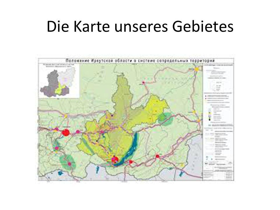 Die Karte unseres Gebietеs
