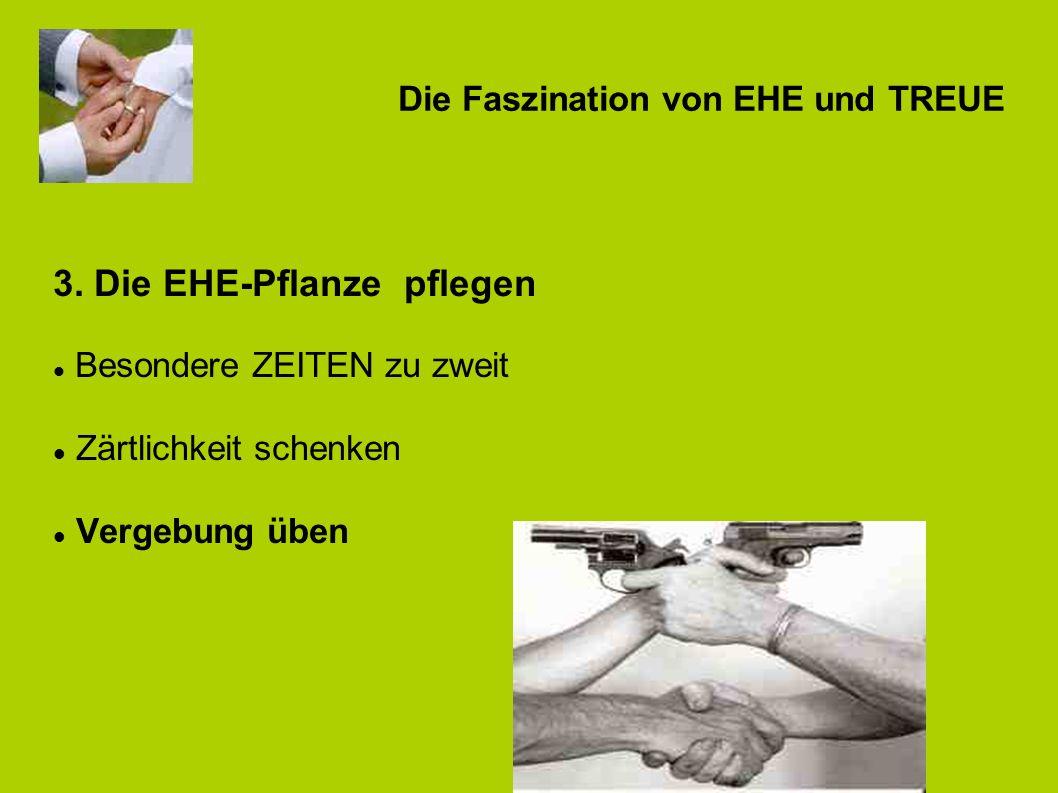 Die Faszination von EHE und TREUE 3.