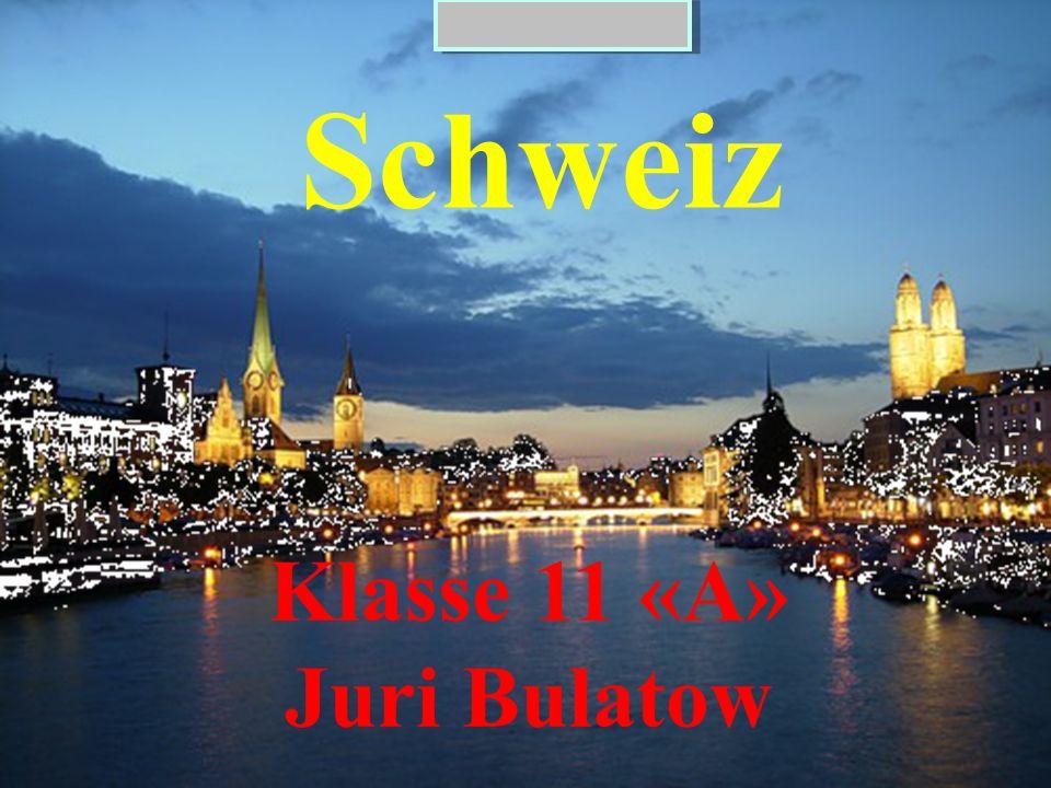 Schweiz Klasse 11 «А» Juri Bulatow
