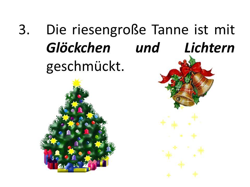 4. Der Frankfurter Weihnachtsmarkt zählt mehr als 3 Millionen Besucher.