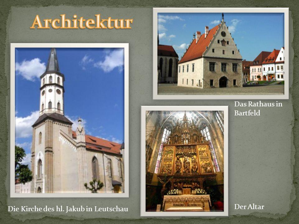 Die Universitätskirche in Tyrnau die Häuser deutscher Weinbauer in Limbach die Häuser der Habaner Bauernhaus in Kremnitz