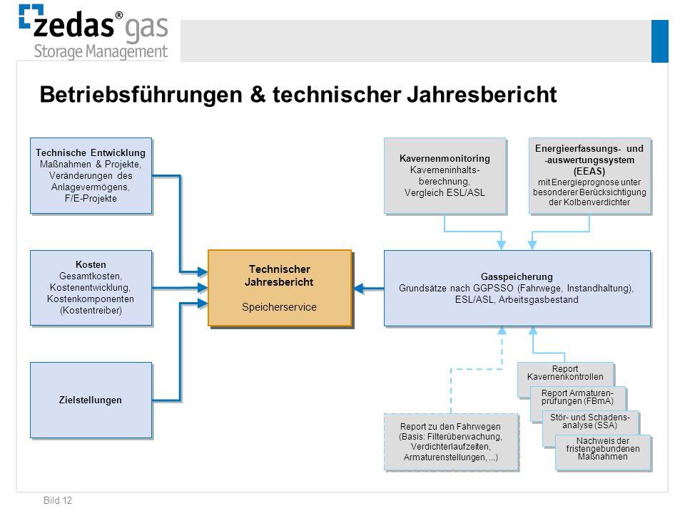 Bild 12 Energieerfassungs- und -auswertungssystem (EEAS) mit Energieprognose unter besonderer Berücksichtigung der Kolbenverdichter Kavernenmonitoring