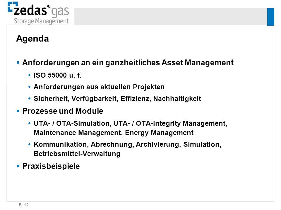 Bild 2 Anforderungen an ein ganzheitliches Asset Management ISO 55000 u. f. Anforderungen aus aktuellen Projekten Sicherheit, Verfügbarkeit, Effizienz