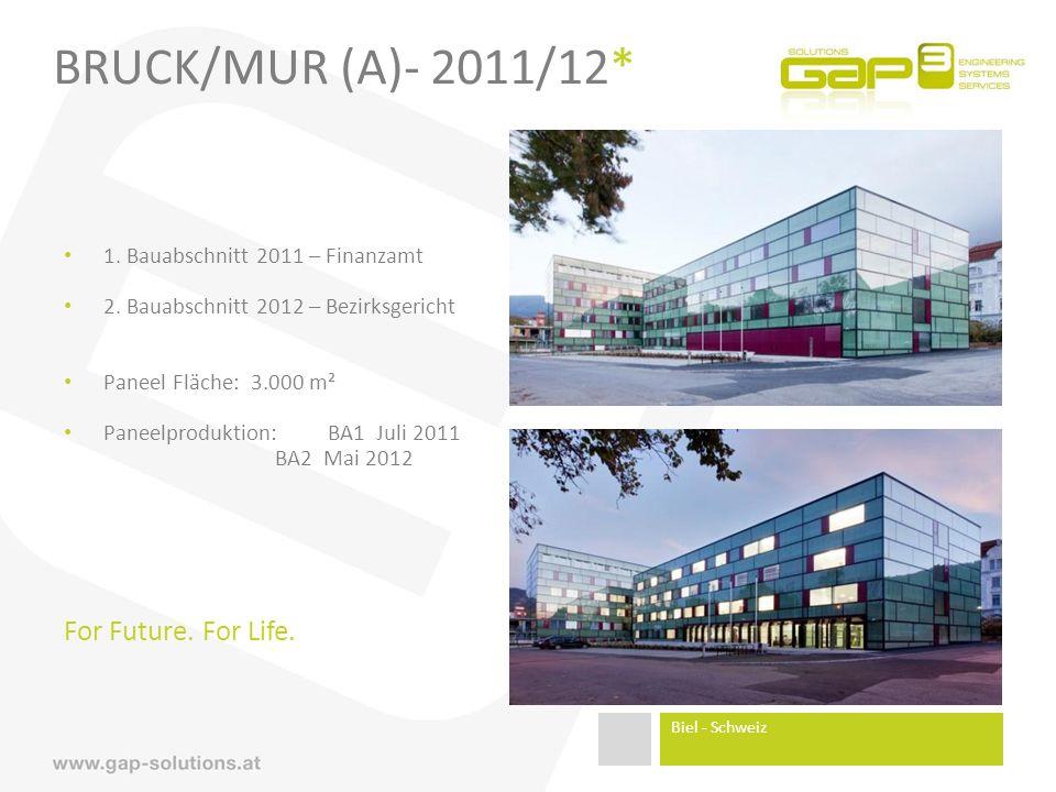 BRUCK/MUR (A)- 2011/12* 1.Bauabschnitt 2011 – Finanzamt 2.