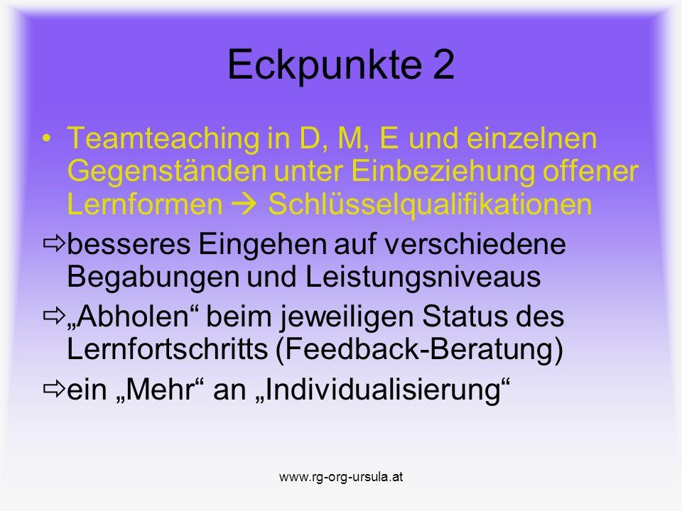 www.rg-org-ursula.at Neue Mittelschule Eckpunkte 1b Tagesbetreuung (Mo.