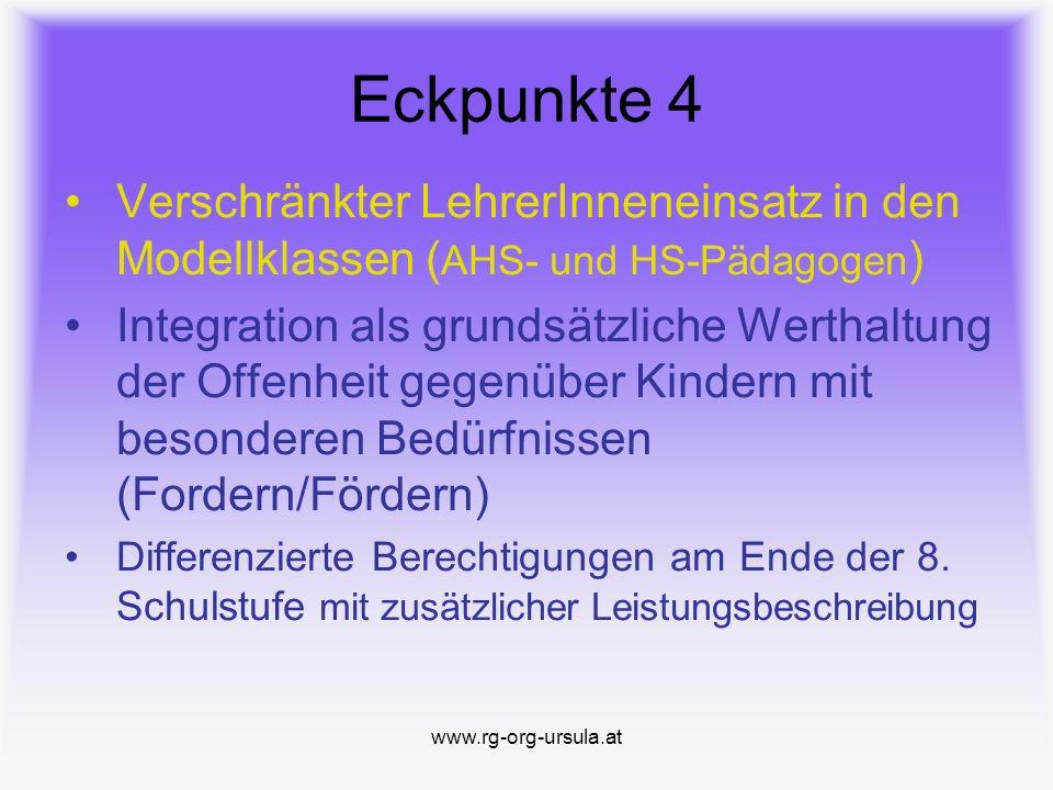 www.rg-org-ursula.at Eckpunkte 3 Alternativer Pflichtgegenstand ab der 3.