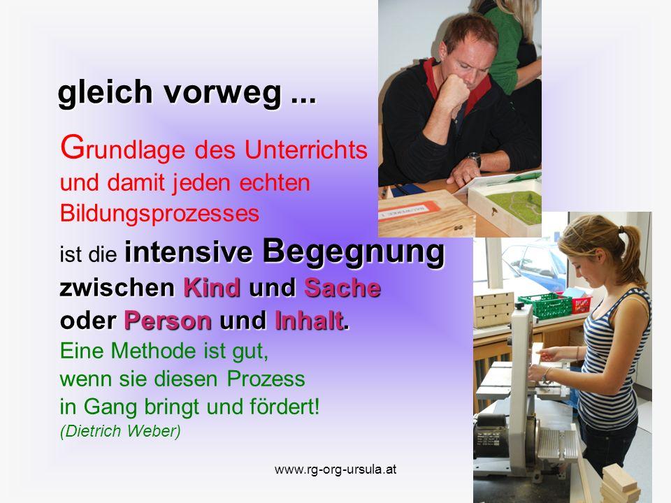 www.rg-org-ursula.at Pädagogischer Schwerpunkt Strukturelemente der Marchtalpädagogik Morgenkreis Mo.
