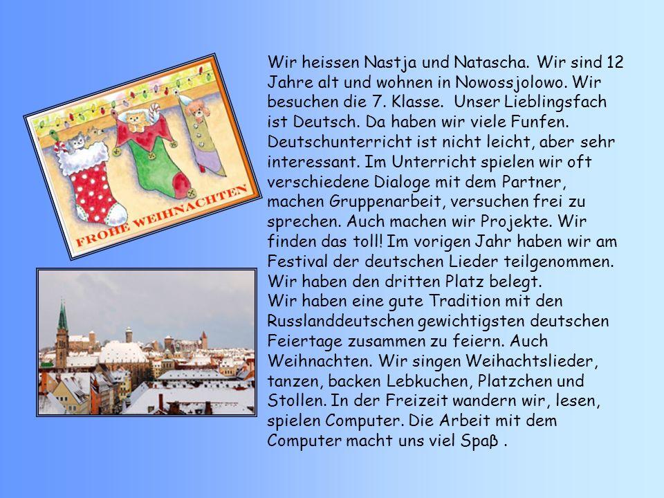Die Deutschen schmucken ihre Wohnungen weihnachtlich.