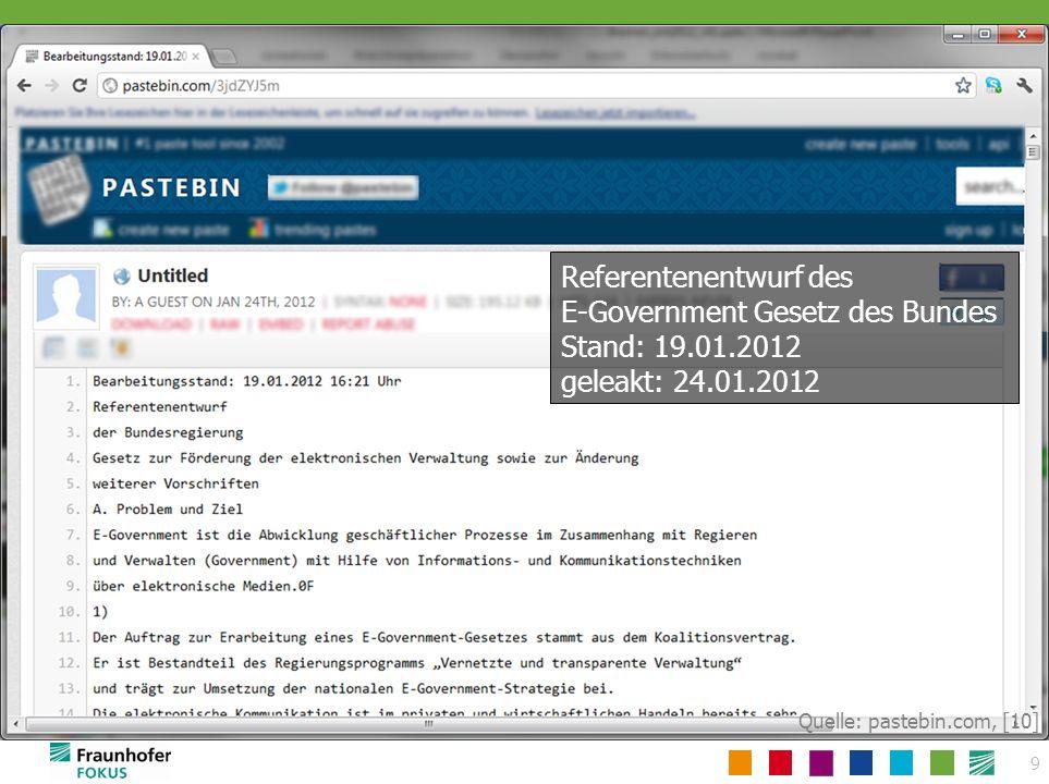 Version 2 – 19.09.2012 (Gesetzesentwurf: Stand 14.09.2012) Version 1 – 05.03.2012 (Referententwurf) Delta?
