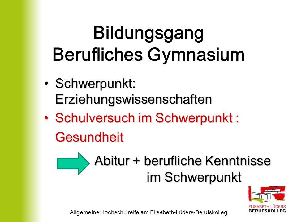 Abiturprüfung o Zentralabitur in den schriftlichen Fächern (Leistungskurse und 3.