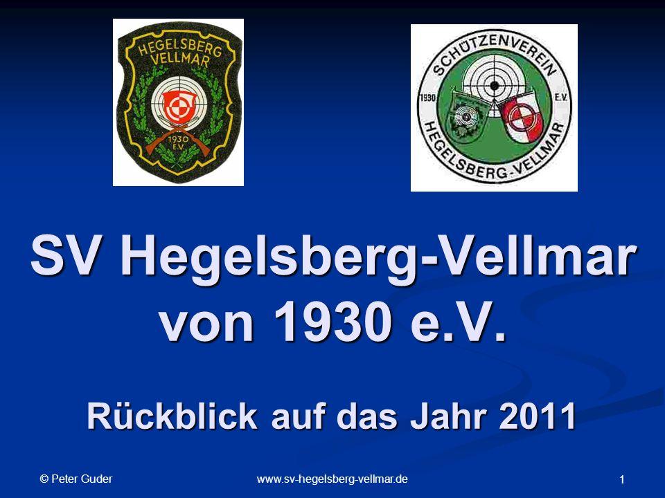 © Peter Guder www.sv-hegelsberg-vellmar.de 1 SV Hegelsberg-Vellmar von 1930 e.V.