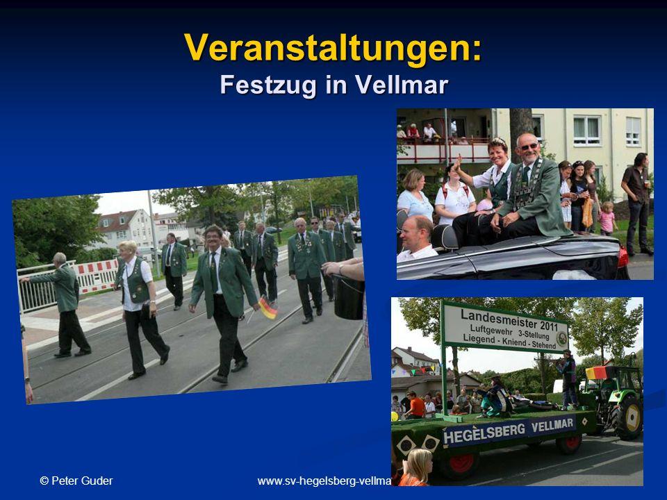 © Peter Guder 21www.sv-hegelsberg-vellmar.de Veranstaltungen: Festzug in Vellmar